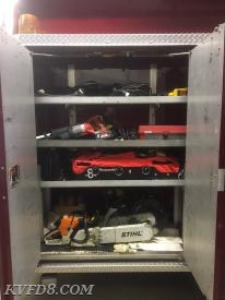 Compartment shelving and deep pocket compartments