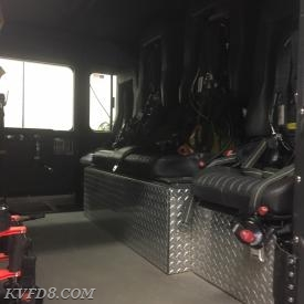 Six Man Cab with Four Rear Seats with SCBA Storage