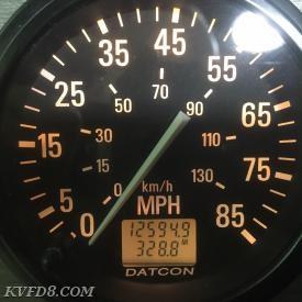 12,594.9 Mileage