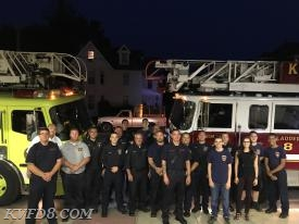 "Coatesville and KVFD firefighters attending tonight's event for ""Deputy 8"""