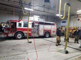 Eng 8 on stand-by yesterday at the Gap Fire Co.