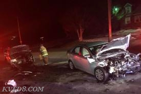 Tonight's crash in West Sadsbury Township