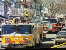 Ladder 8 On-scene Assisting Coatesville City