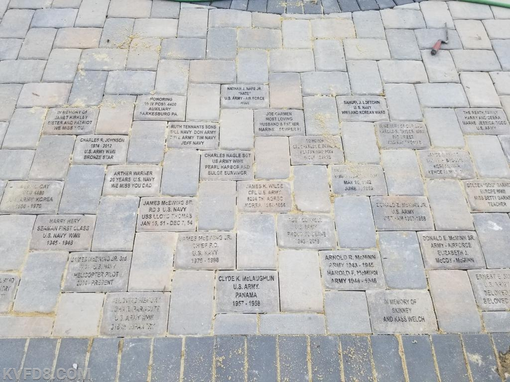 There is still time to order a paver to honor a family member, responder or veteran.