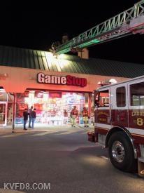 GameStop last night  Photos by K. Baker
