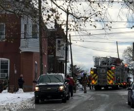 Today's furnace fire in Parkesburg