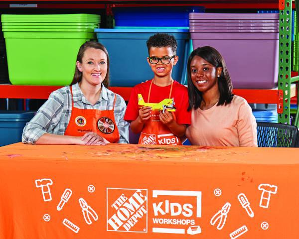 Home Depots Kid's Workshop  Saturday October 5th, 9-12  West Sadsbury Township