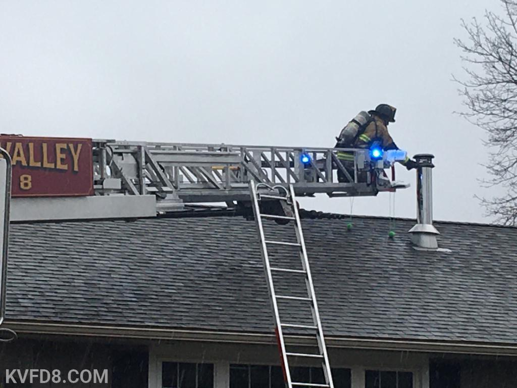 Chimney fire in West Sadsbury