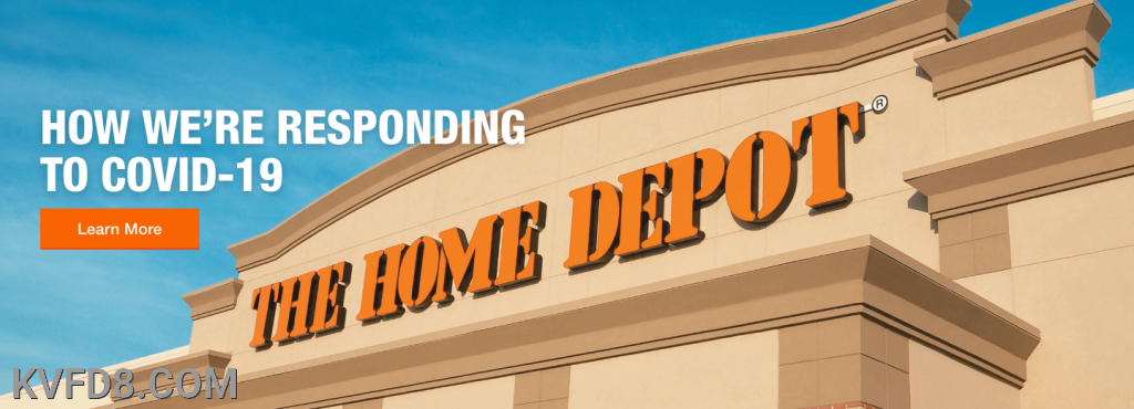 Thank you Home Depot for the cleaning supplies.