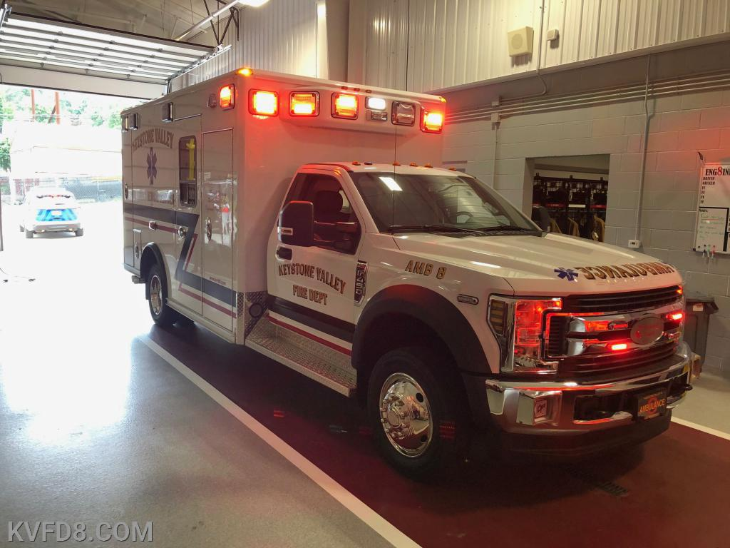 The new Ambulance 8!