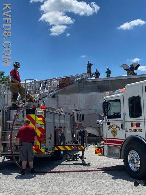 Ladder 8 at work.