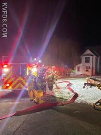 Overnight fire on Strasburg Avenue in Parkesburg