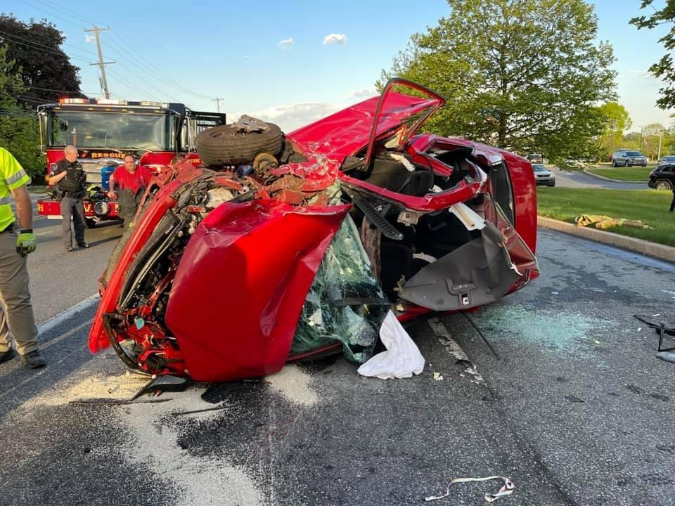 Tonight's serious accident in West Sadsbury Township