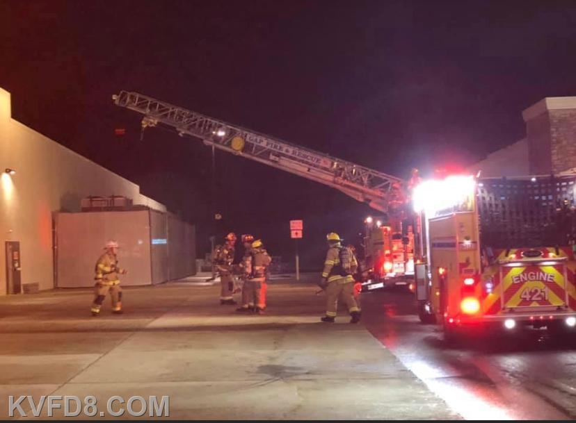 Truck 42, Engine 42, Rescue 42 on-scene Engine 31-1 on-scene- Pic from Sadsburyville FC