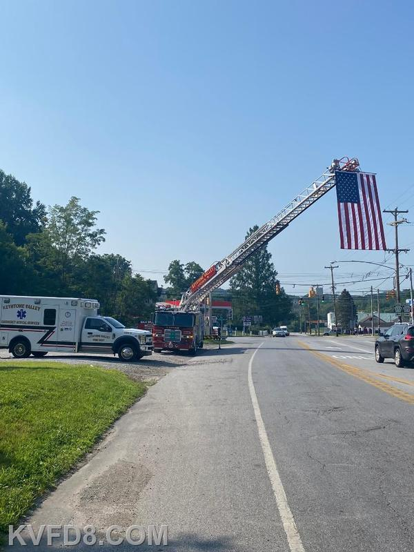 KVFD participates in the 16th Annual Cpl. Brandon M. Hardy Memorial Scholarship Motorcycle Ride