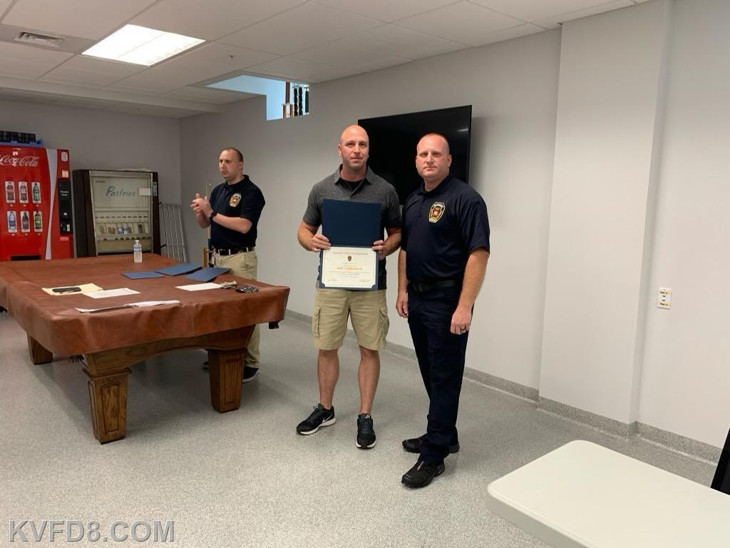 Lt. Jeff Yankanich & Chief Gathercole