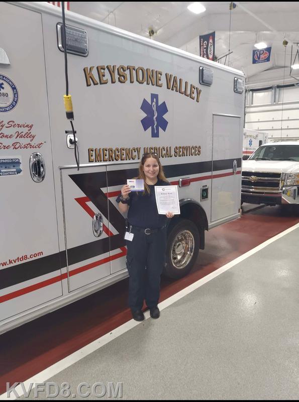 Career EMT Brittany Ward